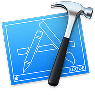 logo of the XCode IDE